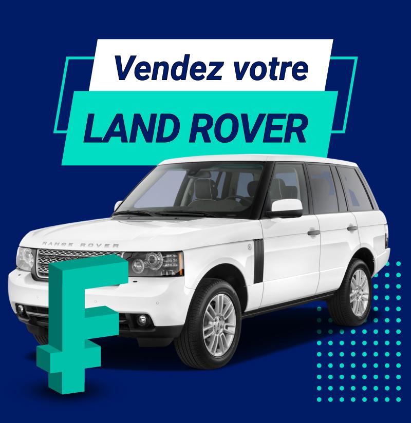 Vendez votre Land Rover